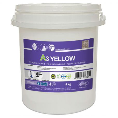 Faber A3 Yellow High Performing Floor Wet Polishing Powder Poultice