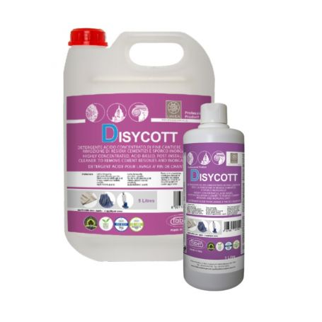 Faber Disycott End of Installation Cleaner Removes Residues and Inorganic Dirt