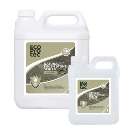 ECOPROTEC Natural Finish Stone Sealer - Water-Based Impregnator