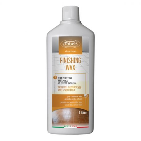 Faber Finishing Wax Water Based Protective Dirtproof Wax Satin Finish
