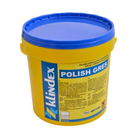 Klindex Polish Gres Polishing Powder for Porcelain Tiles after Honing 5KG