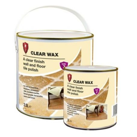 LTP CLEAR WAX - A clear finish wall and floor tile polish