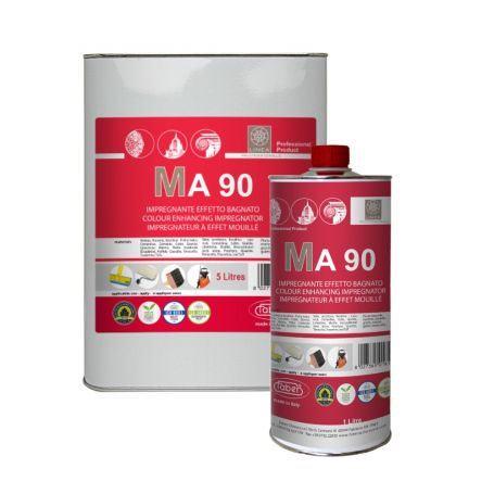 Faber MA 90 Colour Enhancer Wet Look Protective Treatment for Natural Stone and Absorbent Materials
