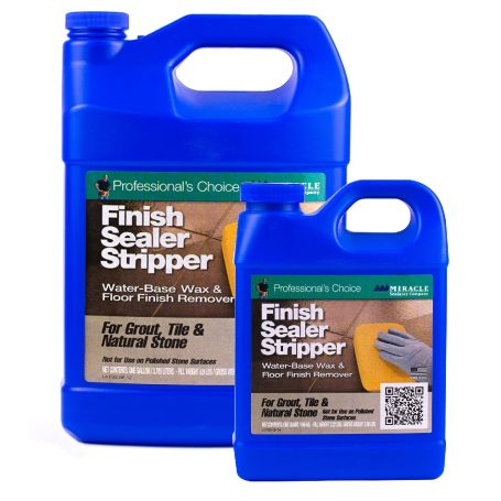 Miracle Sealants Finish Sealer Stripper Wax and Floor Finish Remover