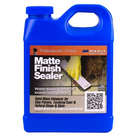Miracle Sealants Matte Finish Sealer for Textured Stone Semi Gloss Enhancer