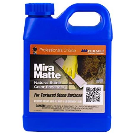 Miracle Sealants Mira Matte Natural Stone Colour Enhancer for Textured Stone 946ml