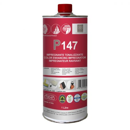 Faber P147 Colour Enhancing Impregnator Matt Finish Non Filming Treatment for Absorbent Surfaces 1L