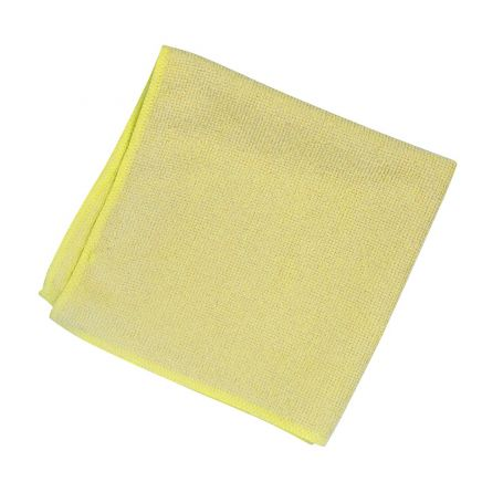 SYR Lightweight Lint Free Microfibre Cleaning Cloth Yellow