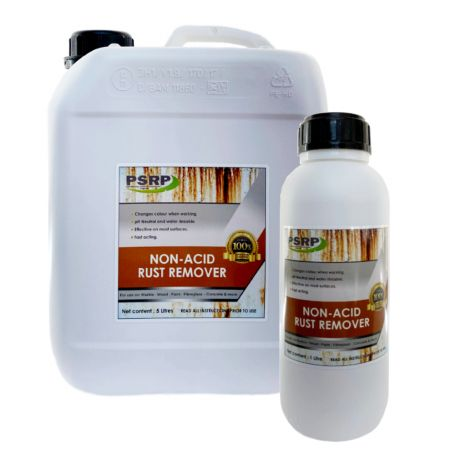 SRP Non Acid Rust Remover Rust Stain Remover for Delicate Surfaces