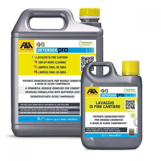 Fila Deterdek Pro Powerful Residue Remover for End of Work Cleaning