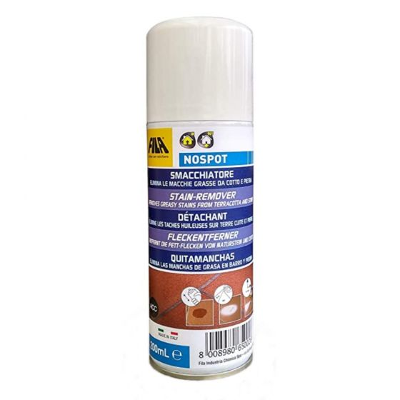 Fila NoSpot Stain Removing Spray for Terracotta Quarry Tiles and Natural Stone