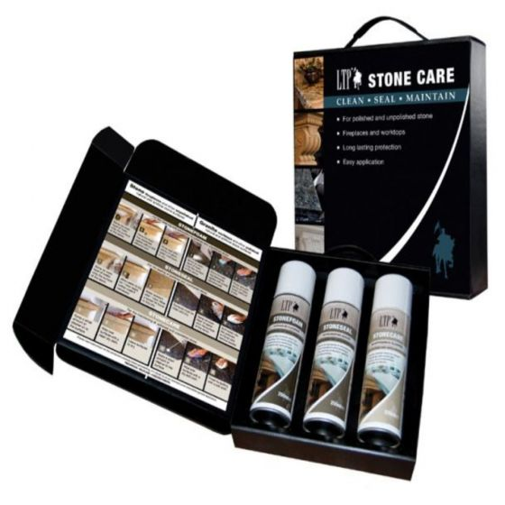 LTP STONE CARE KIT - FOR WORKTOPS AND FIREPLACES