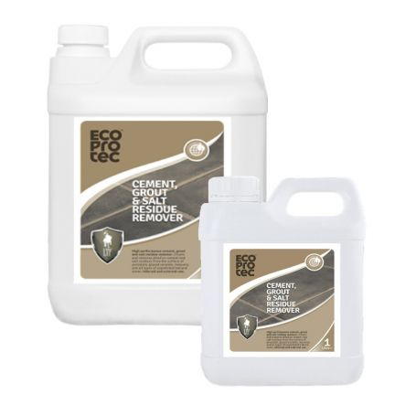 ECOPROTEC Cement, Grout & Salt Residue Remover for Tile & Stone