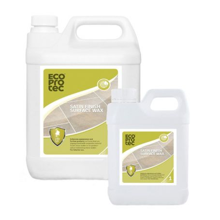 ECOPROTEC Satin Finish Surface Wax - Enhancing Stone Sealer