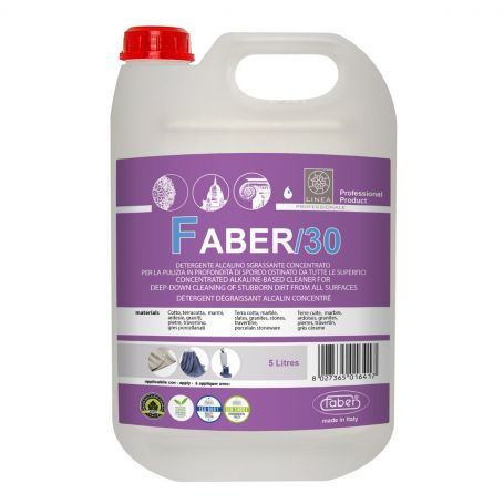 Faber 30 Alkaline Professional Heavy Duty Concentrated Deep Cleaner 5L