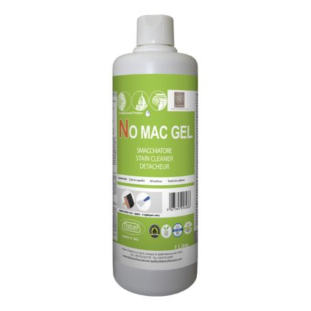 Faber No Mac Gel Stain Cleaner for Coloured Stains from all Types of Surfaces 1L