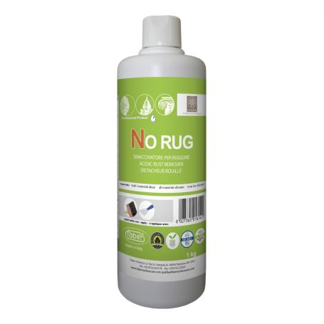 Faber No Rug Water Based Acidic Rust Stain Remover for Acid Resistant Surfaces 1L