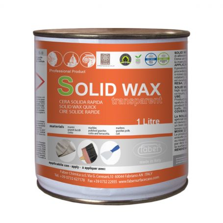Faber Solid Wax Paste for Polishing Walls and Tops