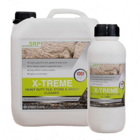 SRP XTreme Alkaline Cleaner and Degreaser Heavy Duty Tile and Grout Cleaner